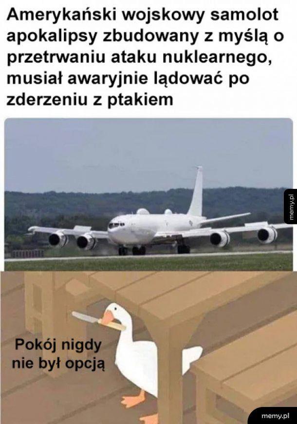 Amerykański samolot