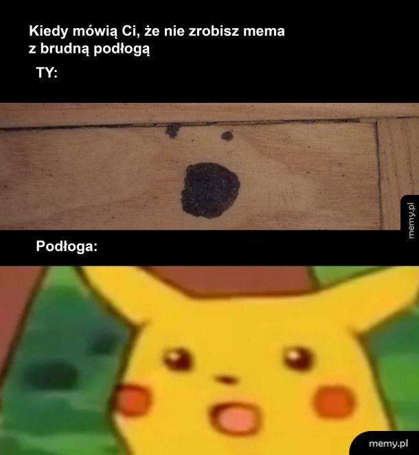 Mem z podłogą