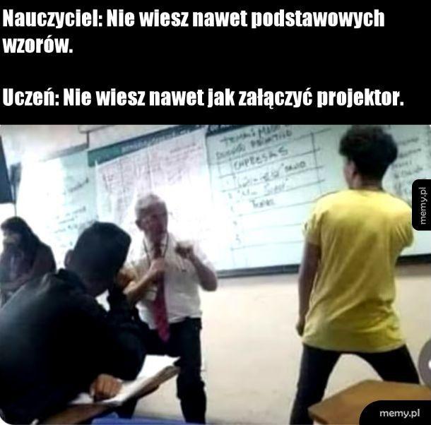 Nauczyciel i uczeń