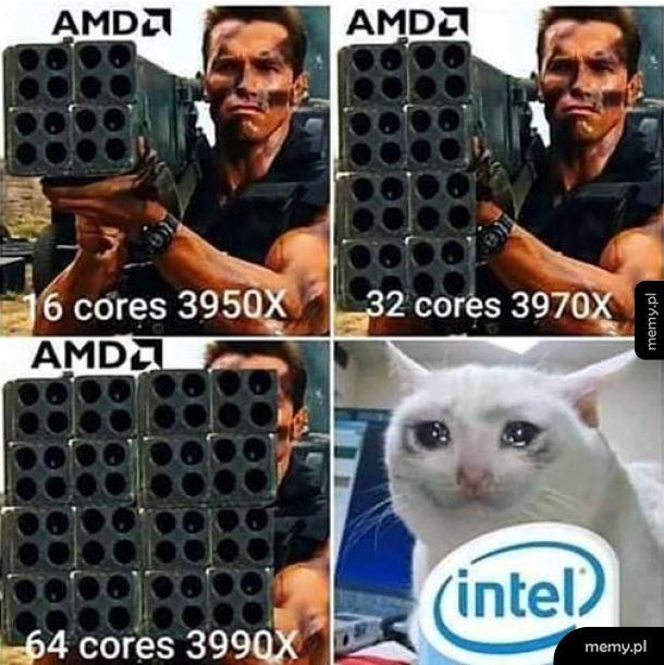 Intel już nie wyrabia