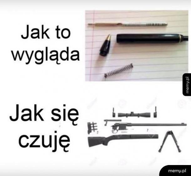 Składanie długopisu