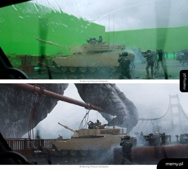 Godzilla - making of