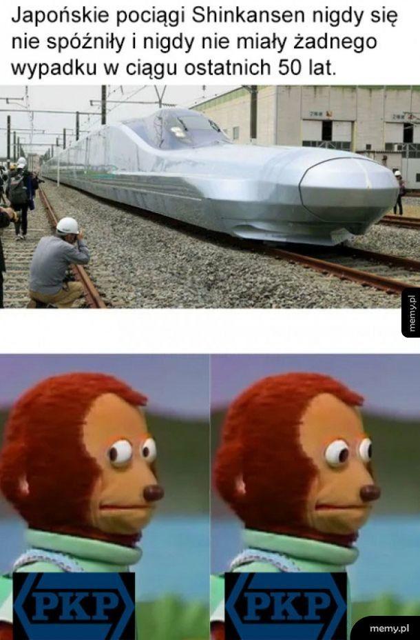 Japońskie pociągi