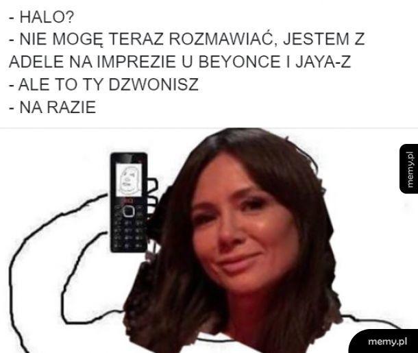 Halo? Mówi Kinga Rusin