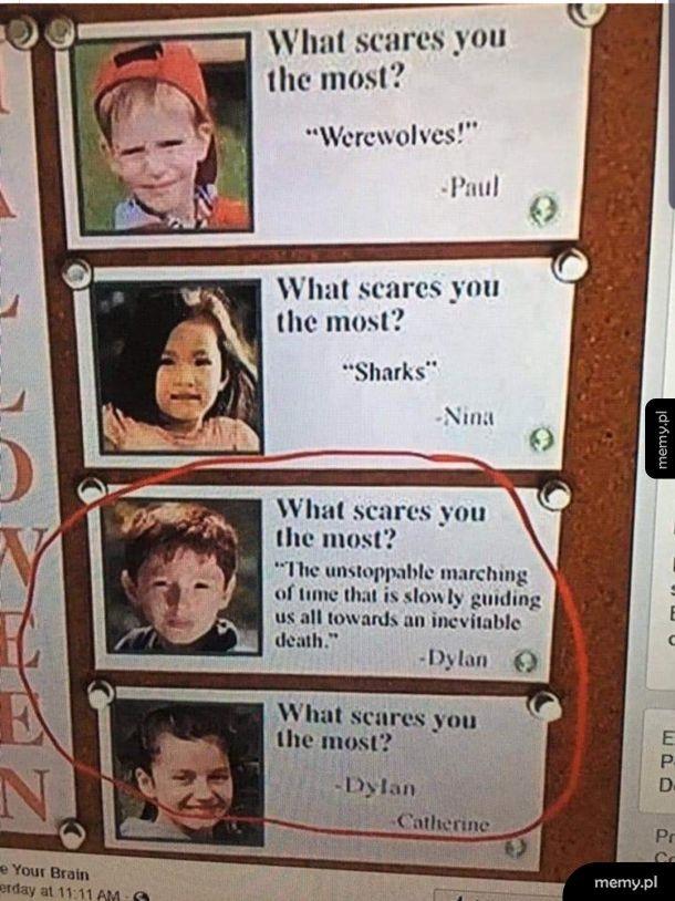 Mnie też przeraża