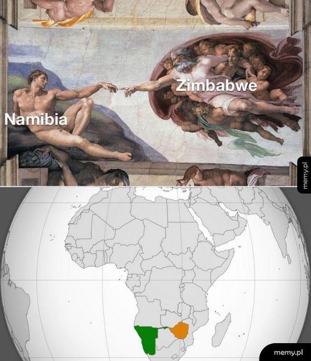 Namibia i Zimbabwe