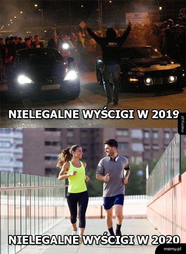 Nielegalne wyścigi