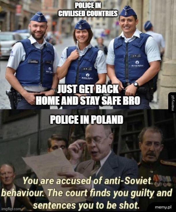 Polska Policja a Koronawirus