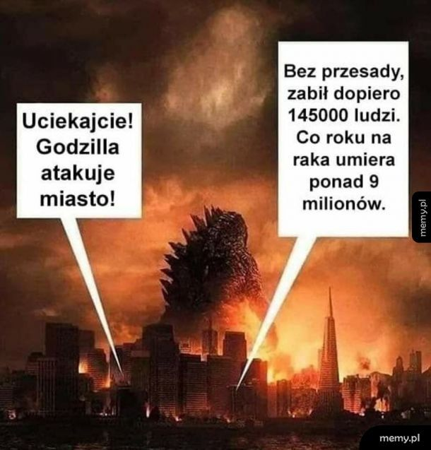 Godzilla nie jest wcale taka groźna