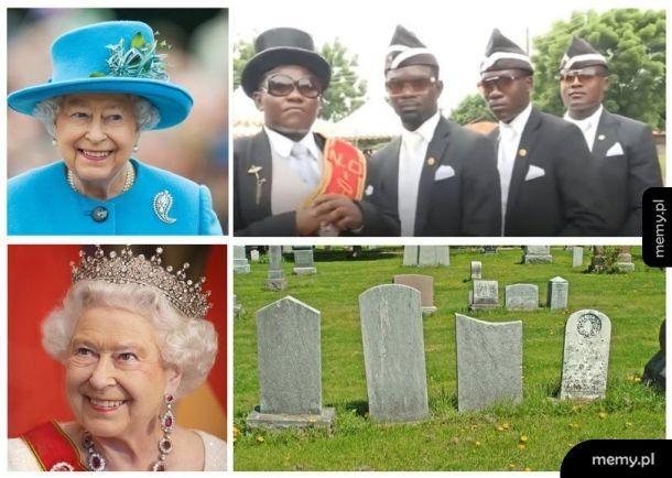 Jej Brytyjska Wysokość przeżyje wszystkich