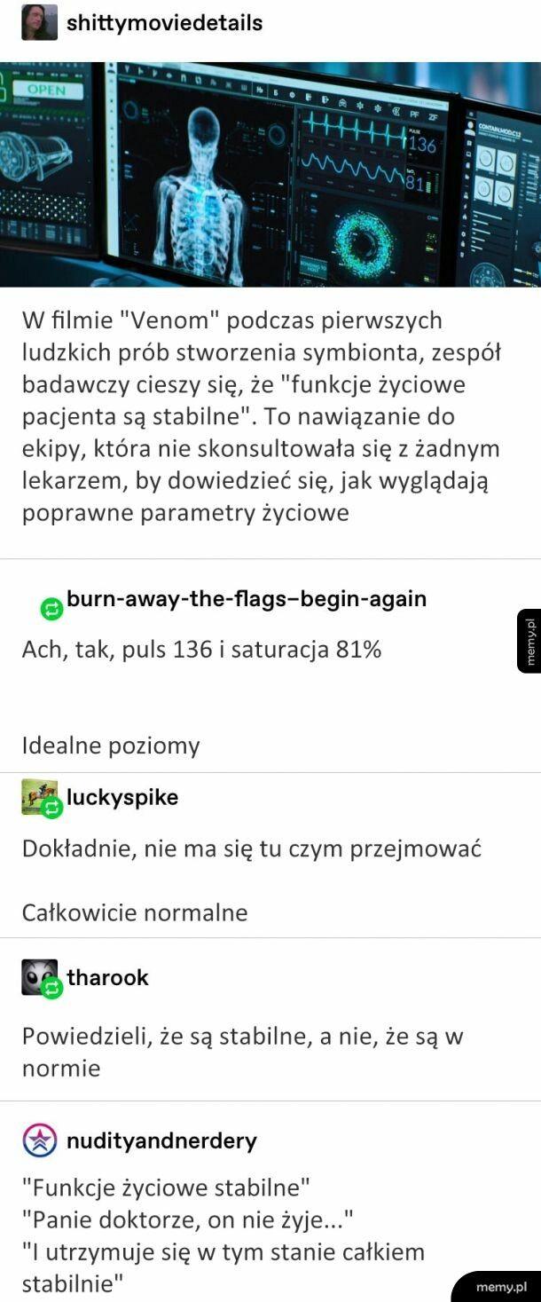 Ch***wo ale stabilnie