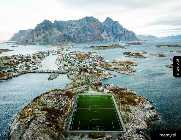 Boisko w Norwegii