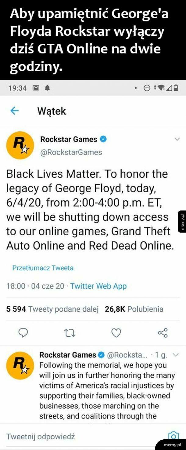 Rockstar oddaje hołd Floydowi