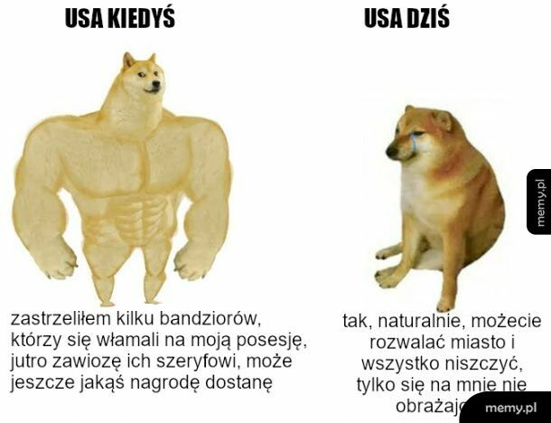 USA teraz