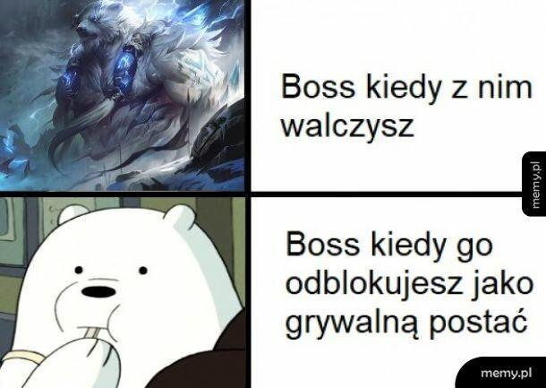Boss jako grywalna postać
