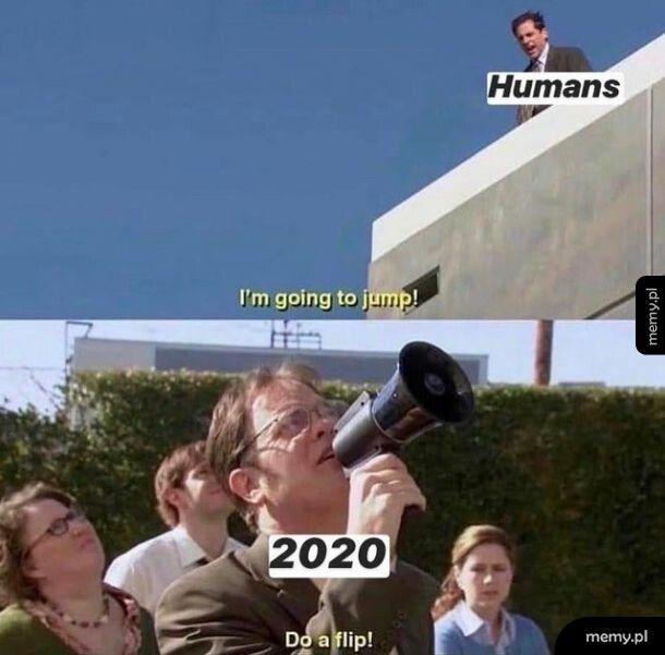 Humans vs 2020