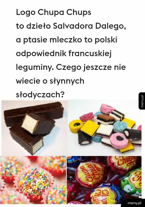 Słynne słodycze