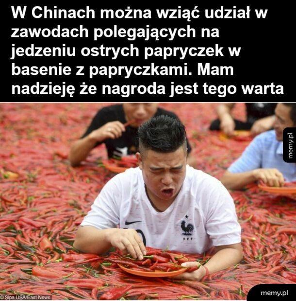 Zawody w Chinach