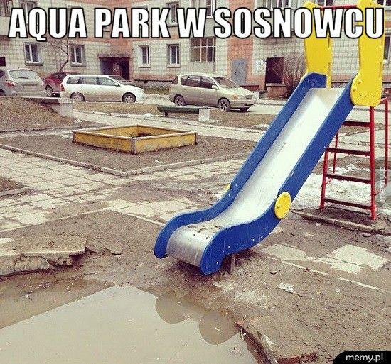 Aqua park w Sosnowcu