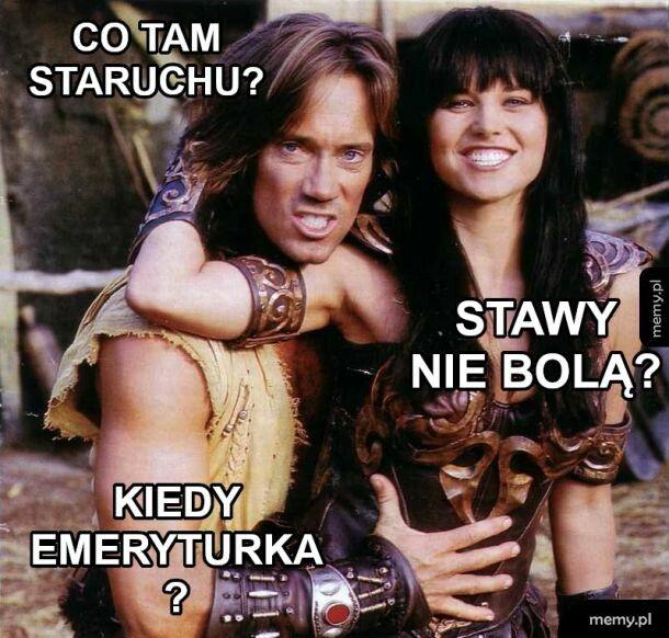 Xena i Herkules pozdrawiają