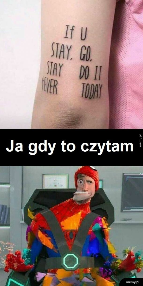If you stay, go stay