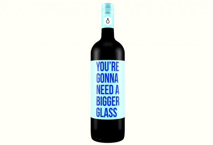 Etykiety na winach które mówią same za siebie