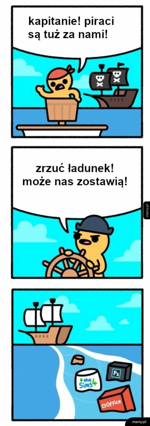 Piraci robią źle