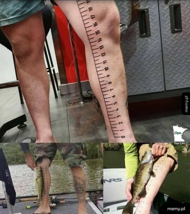 Praktyczny tatuaż dla fanatyka