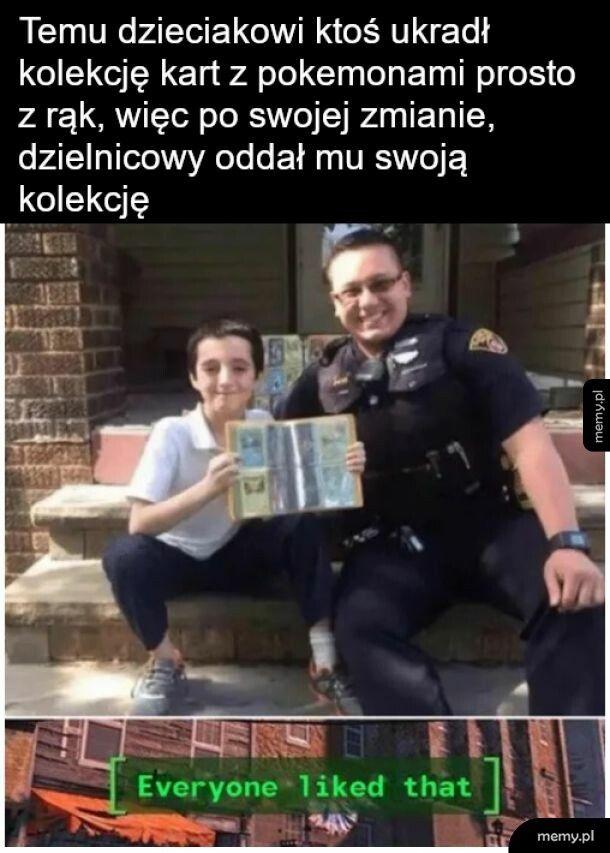 Dobry ziom policjant