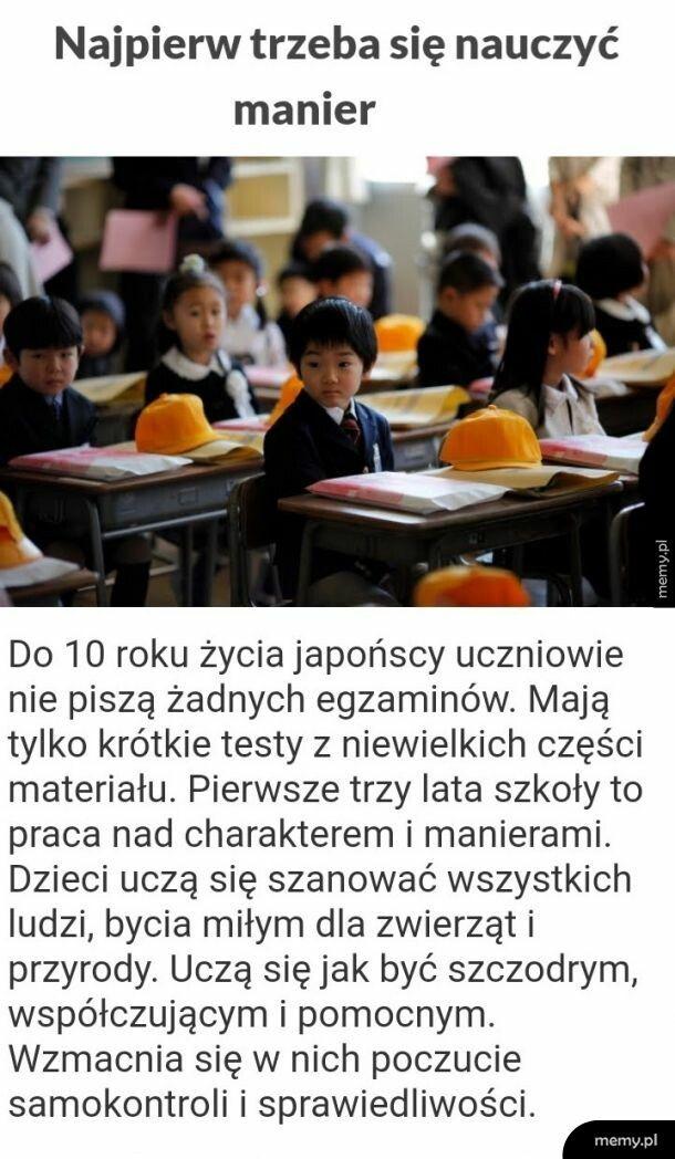 Japońska edukacja