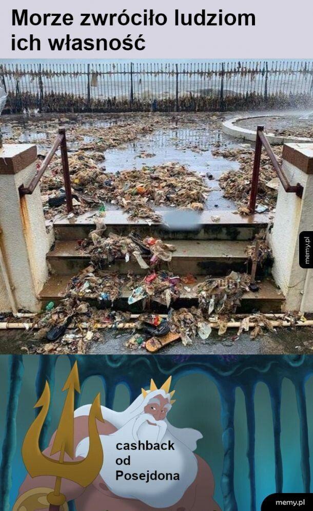 Tsunami lub inna powódź