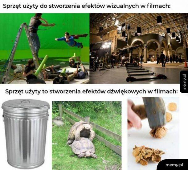 Efekty w filmach