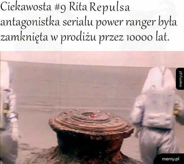 Ciekawostka #9 Rita Repulsa