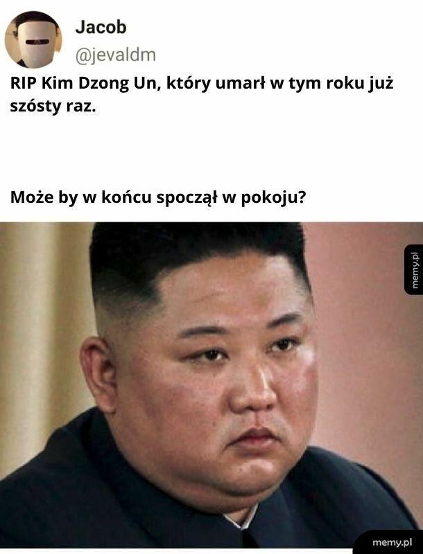 RIP Kim Dzong Un... znowu