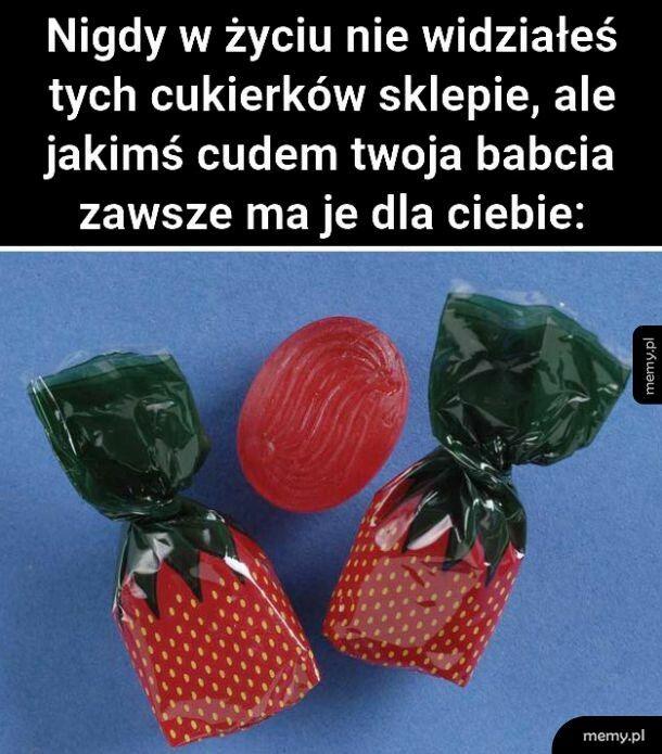 Cukierki babciowe