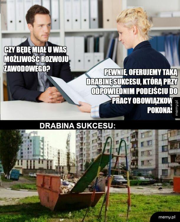 Praca w Polsce taka jest