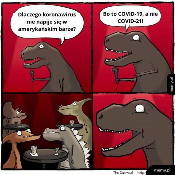 I własnie przez takie suchary dinozaury wyginęły
