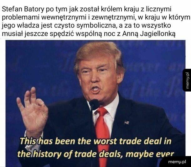 Nie wiem, jak zdesperowanym trzeba być, by pójść na taki deal