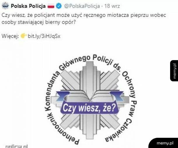 Sympatyczne ciekawostki od Polskiej Policji