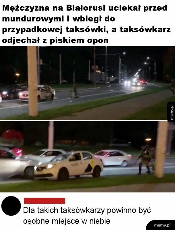 Dobry taksówkarz
