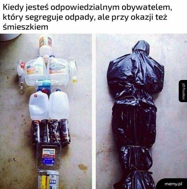 Segregowanie odpadów