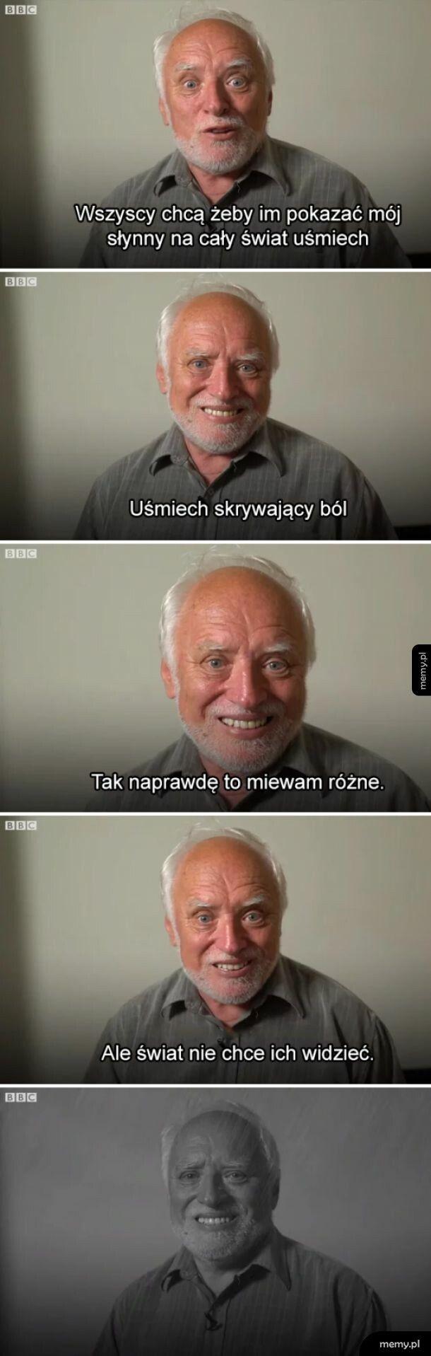 Bolesny uśmiech Harolda