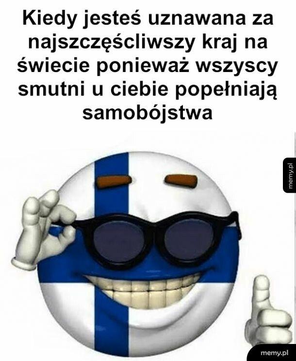 Ach, Finlandia, zielony kraj