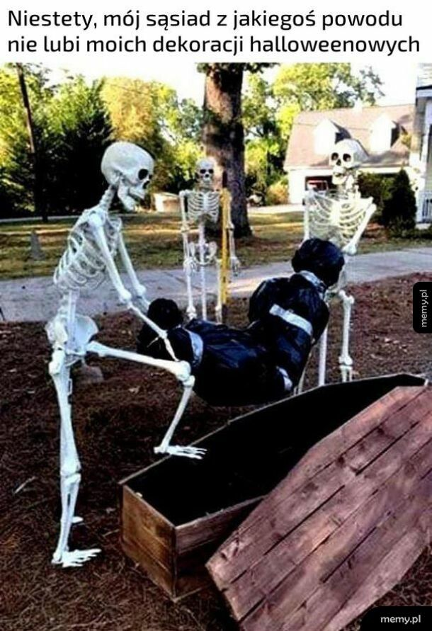 Dekoracje Halloweenowe