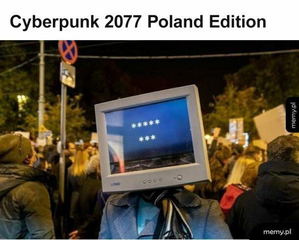 Protesty w Night City