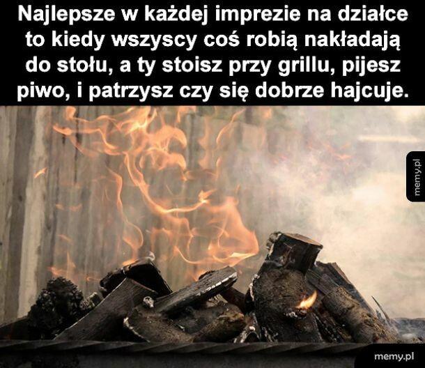 Pilnowanie grilla