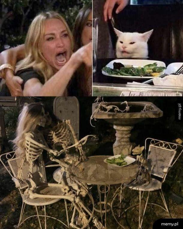 Mem halloweenowy