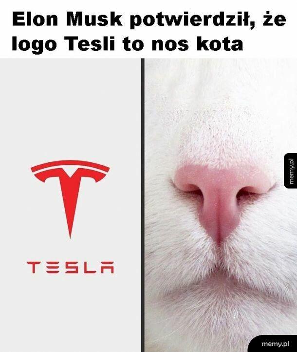Inne spojrzenie na logo Tesli