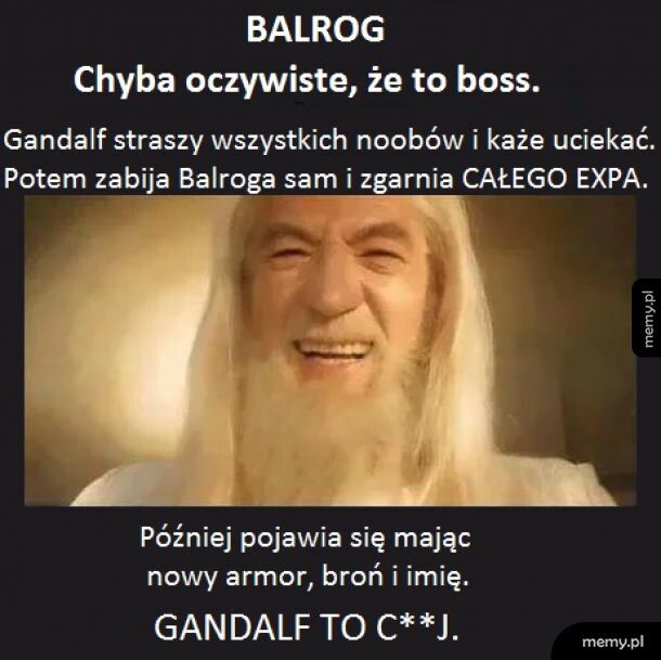 Gandalf, ty...