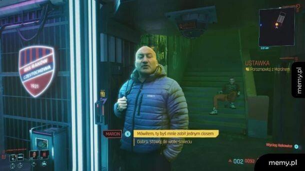 Najman 2077 , nawet w grze sie pojawił 0_o